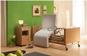 Care beds with stand-up-VIDEO